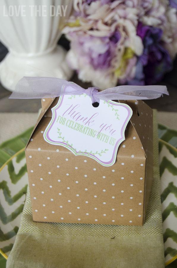 FREE Printable Favor Tags by Love The Day