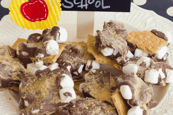 Back To School Indoor S'more Bark Recipe