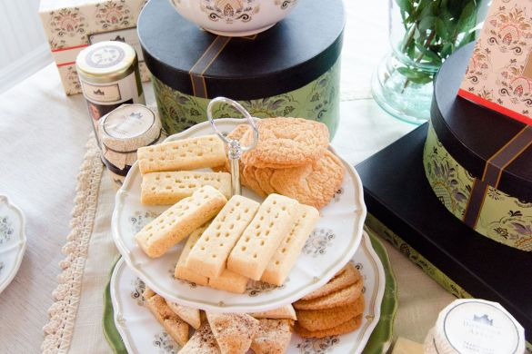 Do The Downton Tea Party with World Market by Love The Day