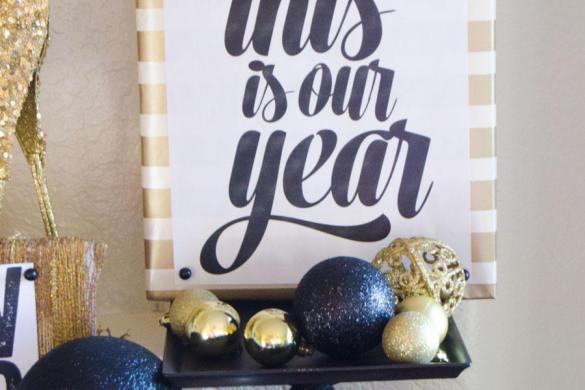 New Years Craft with Make It Fun Foam