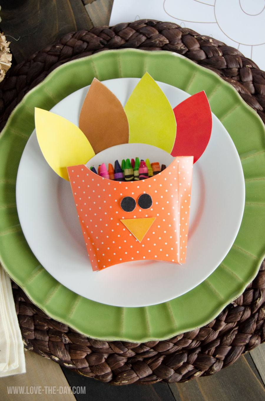 Thanksgiving Crafts For Kids:: DIY Turkey Boxes
