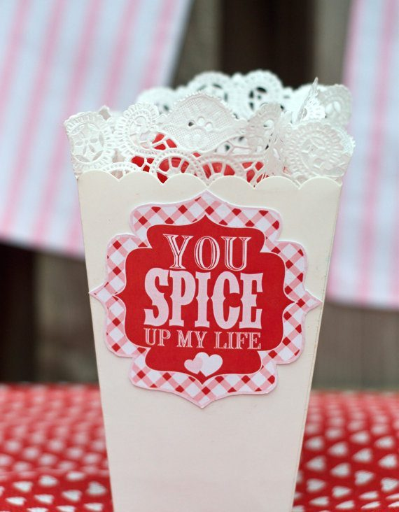 You Spice Up My Life Valentine PRINTABLE (Instant Download)