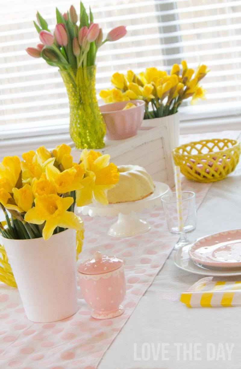 Easter Decoration Ideas by Love The Day