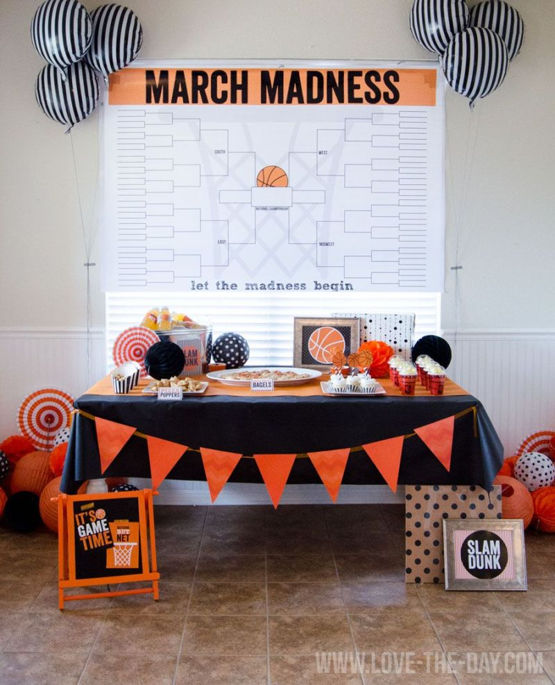 Basketball Party Ideas by Love The Day