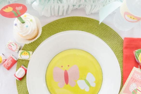 Spring Has Sprung Easter Party Tablescape by Love The Day