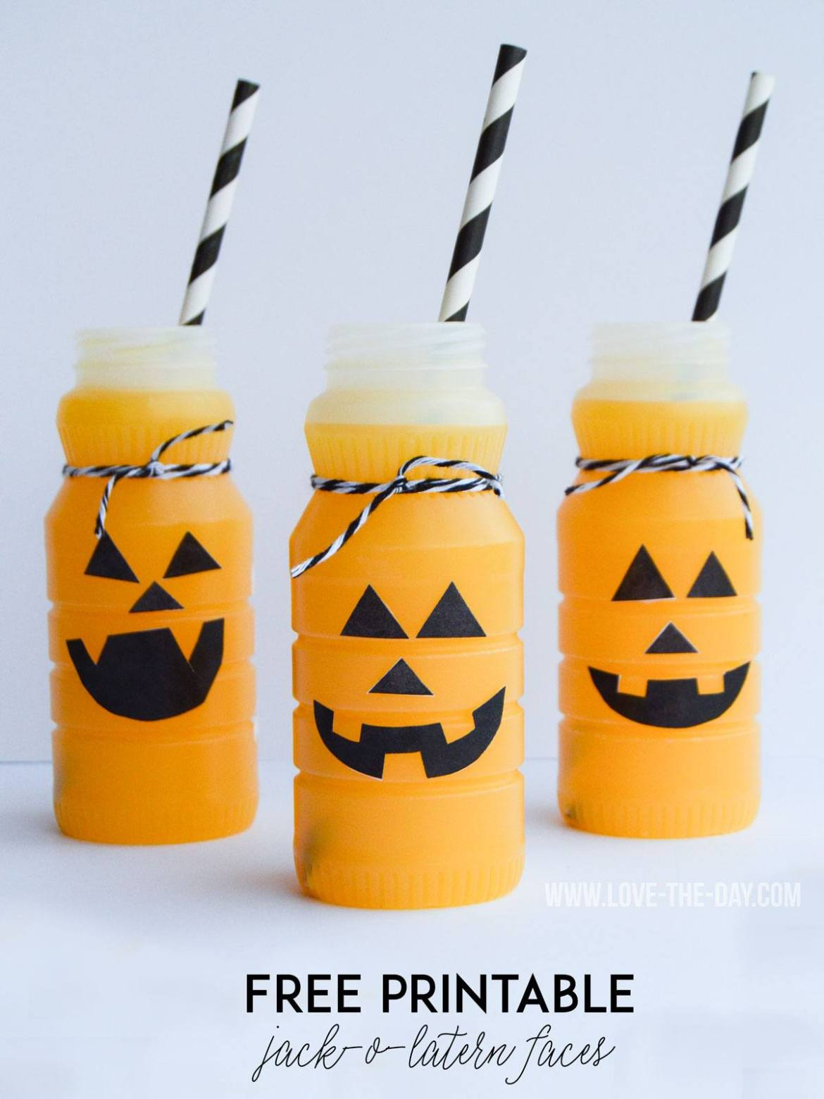 FREE Jack-O-Latern Patterns by Love The Day