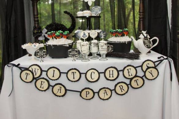 How to Host a Witch's Tea Party on Love The Day by The Party Teacher