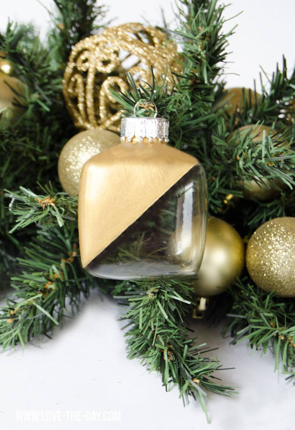 DIY Christmas Ornaments Tutorials by Love The Day