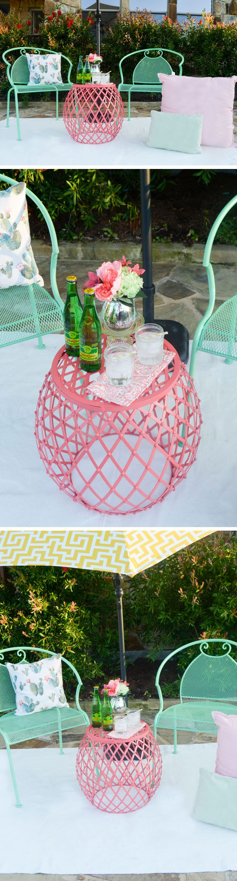 Outdoor Entertaining Ideas by Lindi Haws of Love The Day