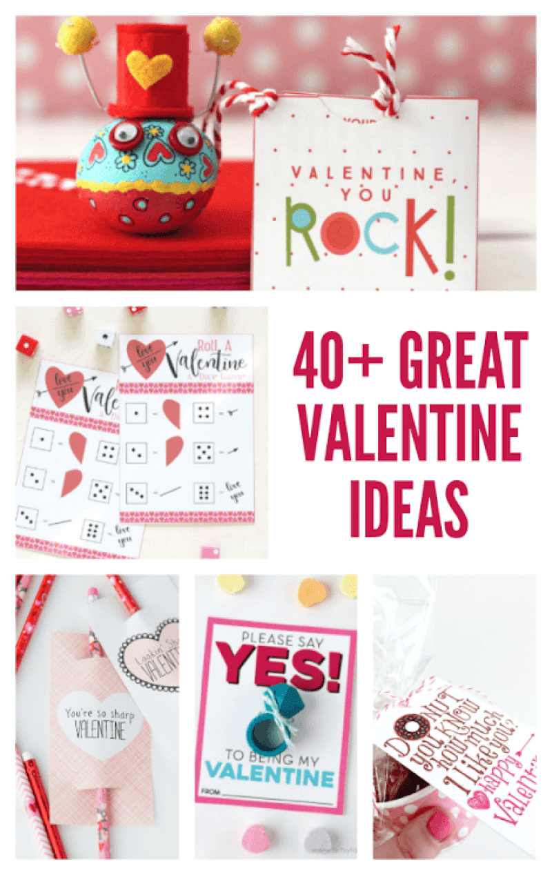 40 Great Valentine Ideas on Love The Day