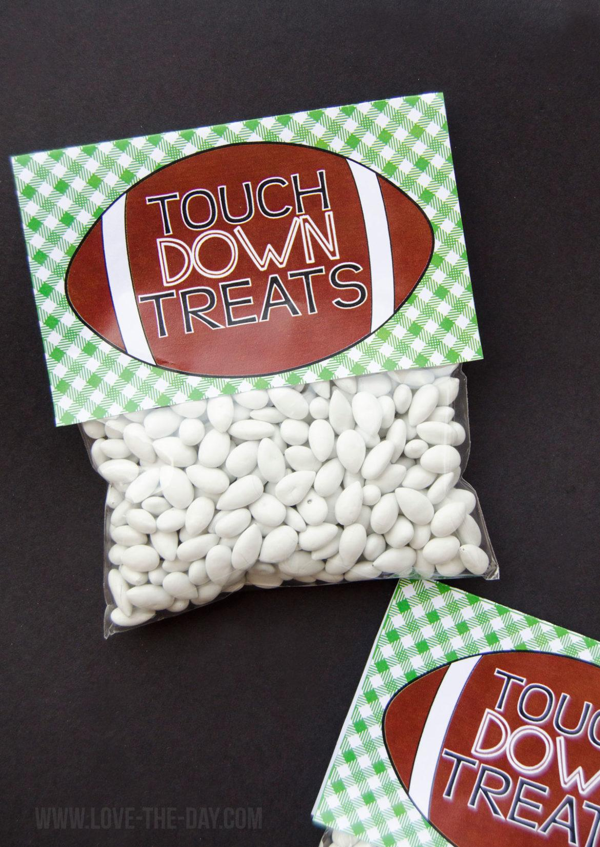 Football Party Favors Free Printable By Lindi Haws Of Love