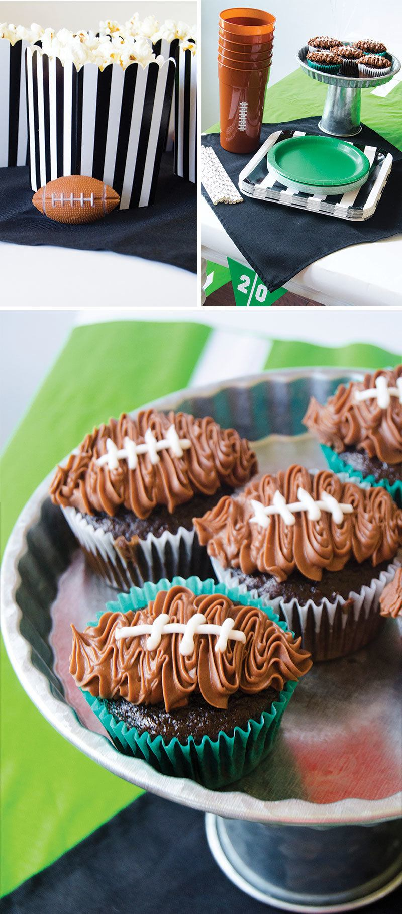 Football Party Ideas by Lindi Haws of Love The Day