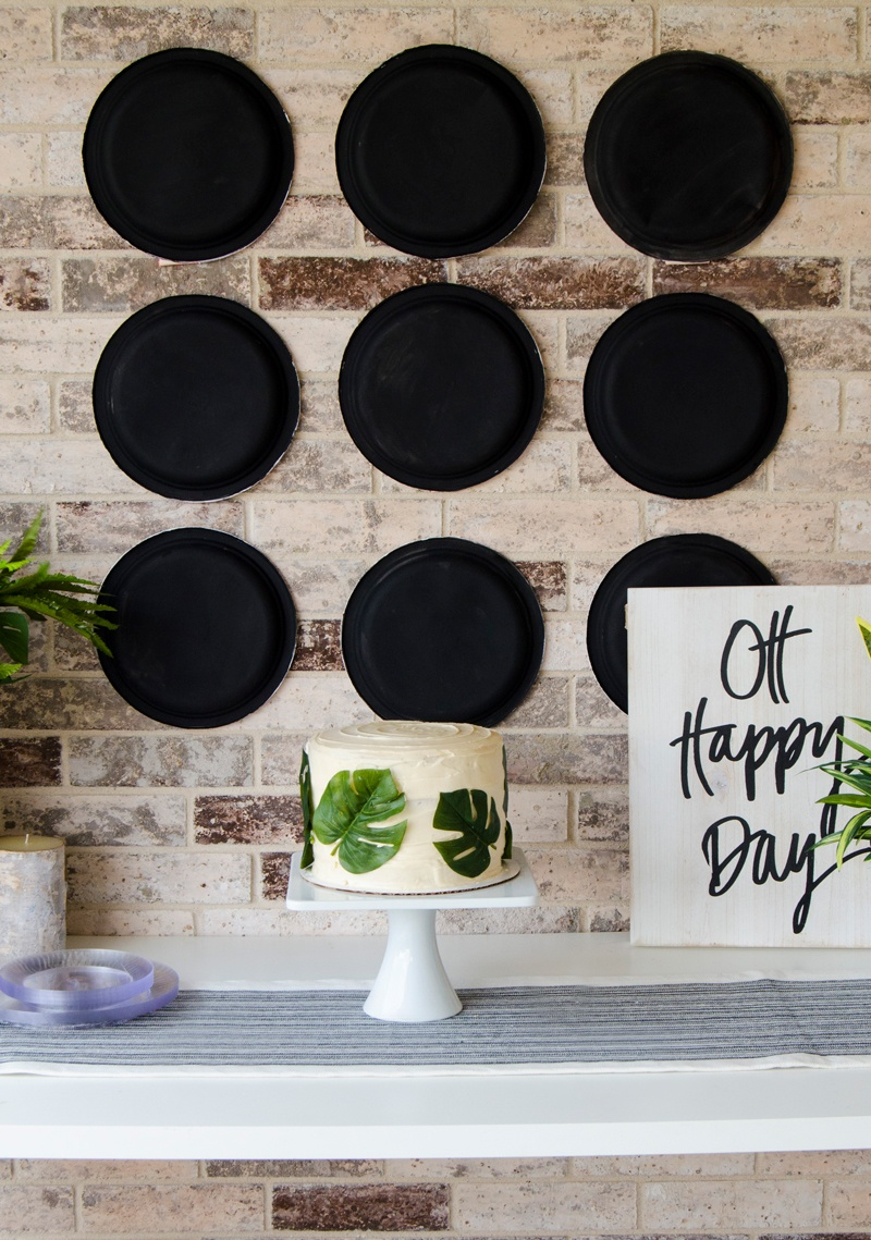DIY Backdrop for Baby Shower by Lindi Haws of Love The Day