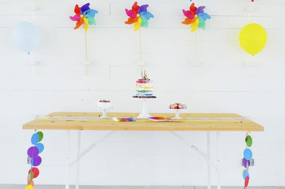 KIDS PARTIES: Rainbow Theme by Lindi Haws of Love The Day