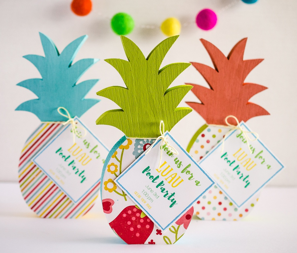 Luau Pool Party Invites by Fawn Prints on Love the Day
