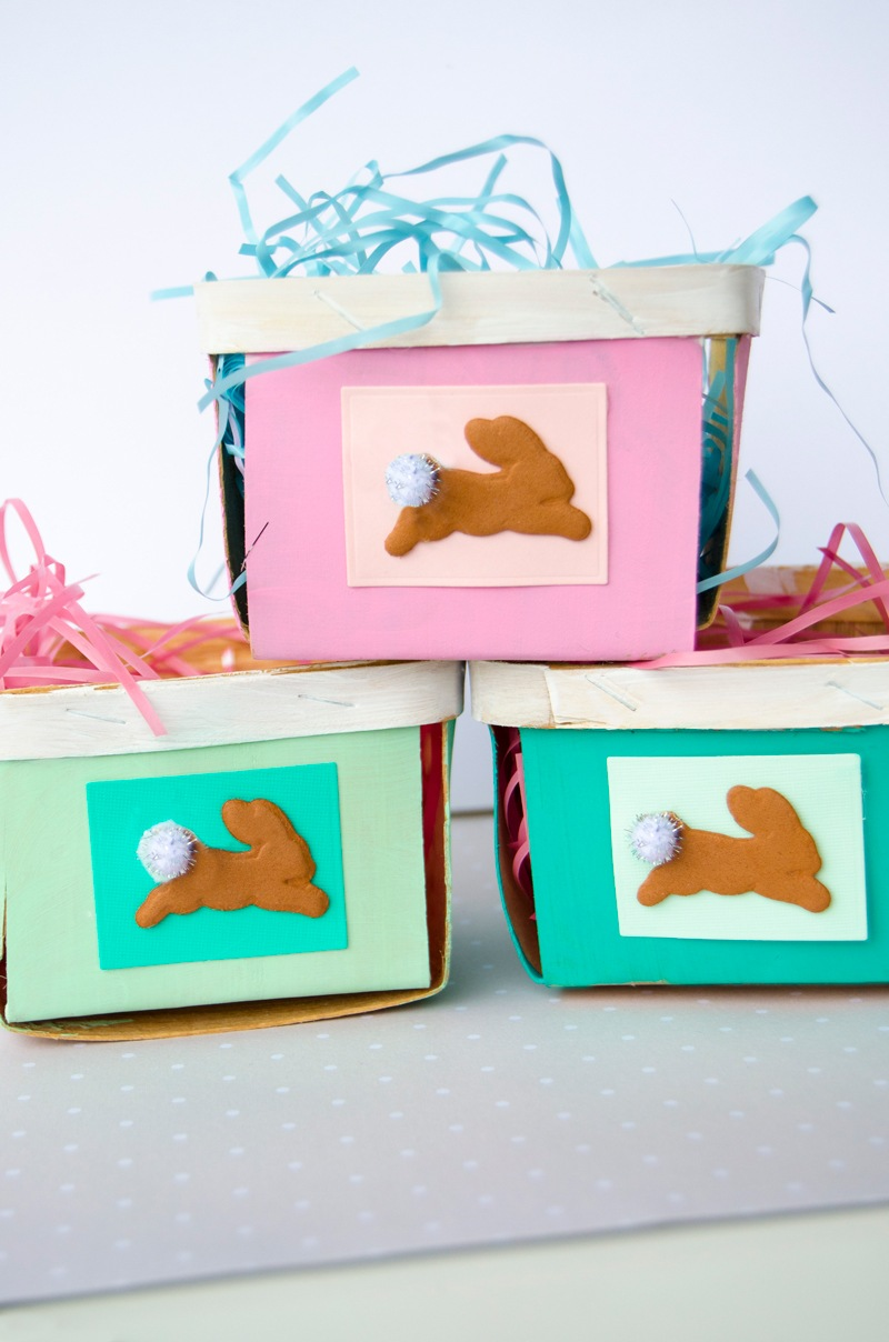 DIY Easter Baskets with Spellbinders by Lindi Haws of Love The Day