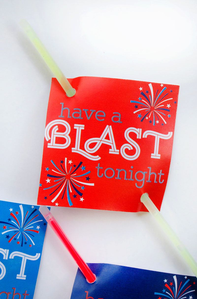 Fourth of July Ideas for Kids:: Party Favors by Lindi Haws of Love The Day