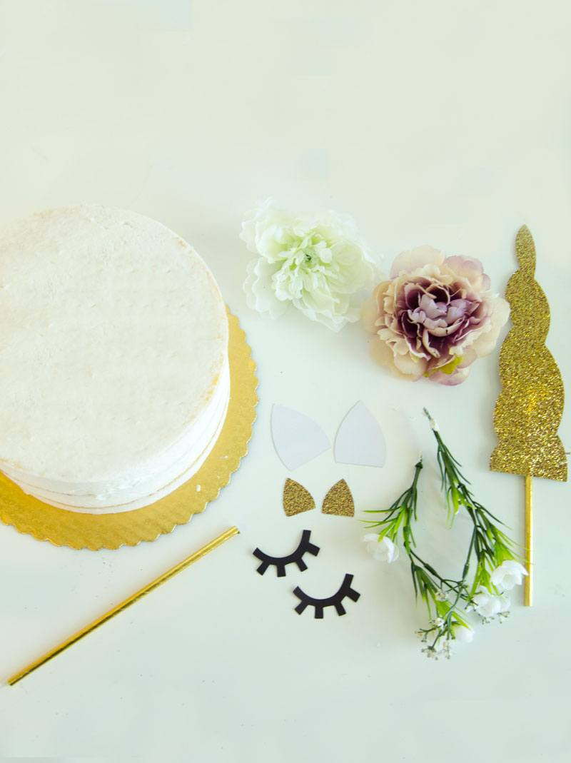 How To Make A Unicorn Cake by Lindi Haws of Love The Day