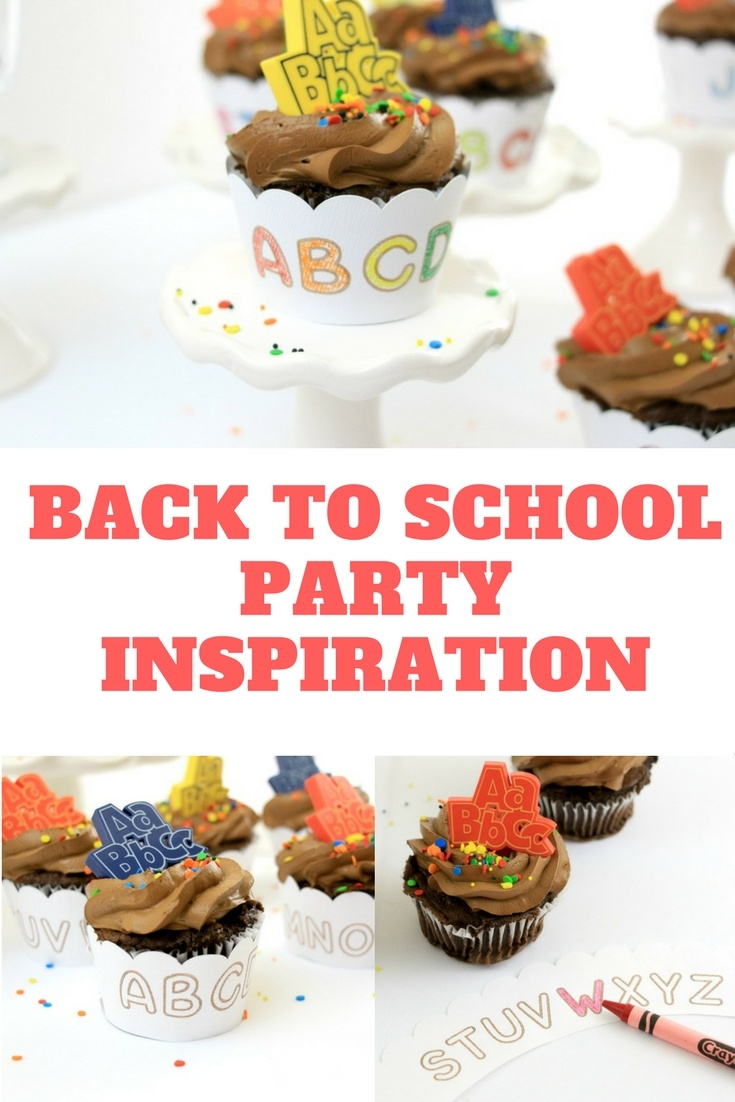 Back to School Party Inspiration by Polka Dotted Blue Jay on Love the Day