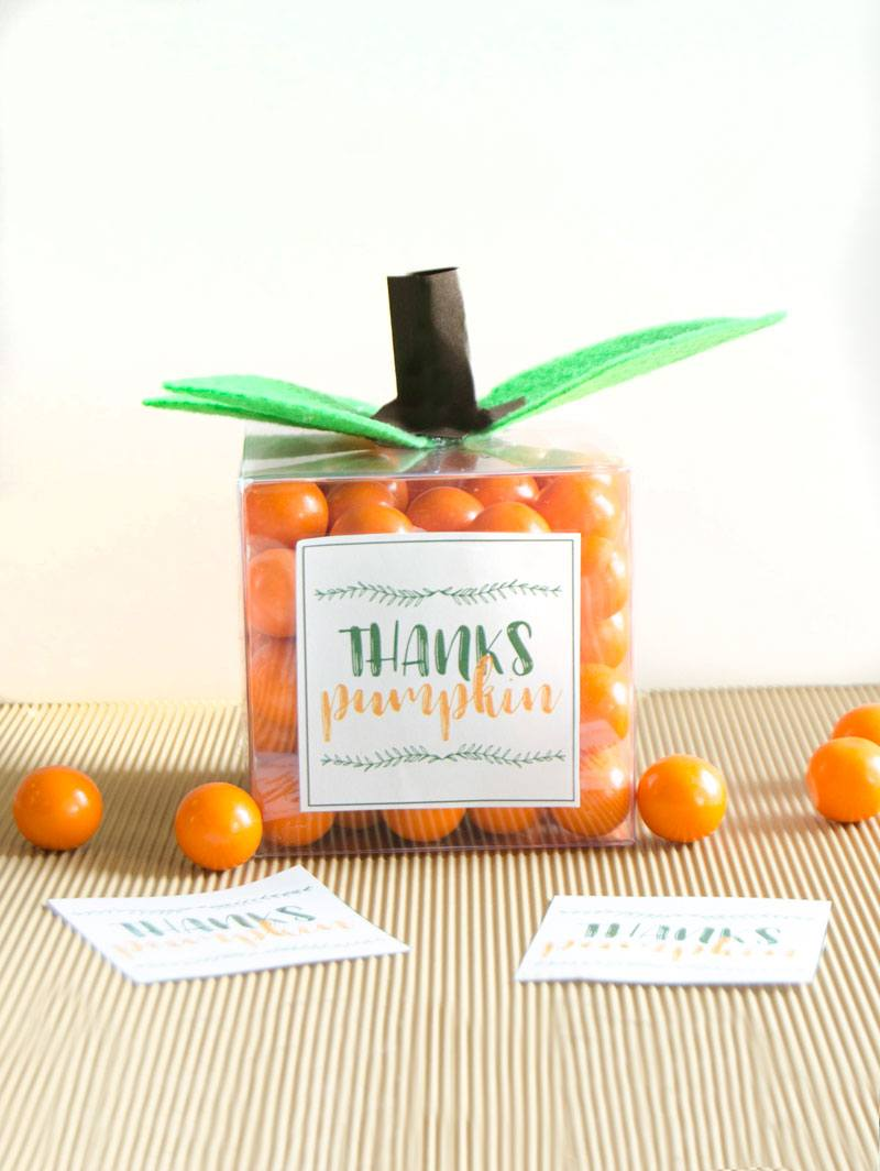DIY Pumpkin Party Favors by Lindi Haws of Love The Day