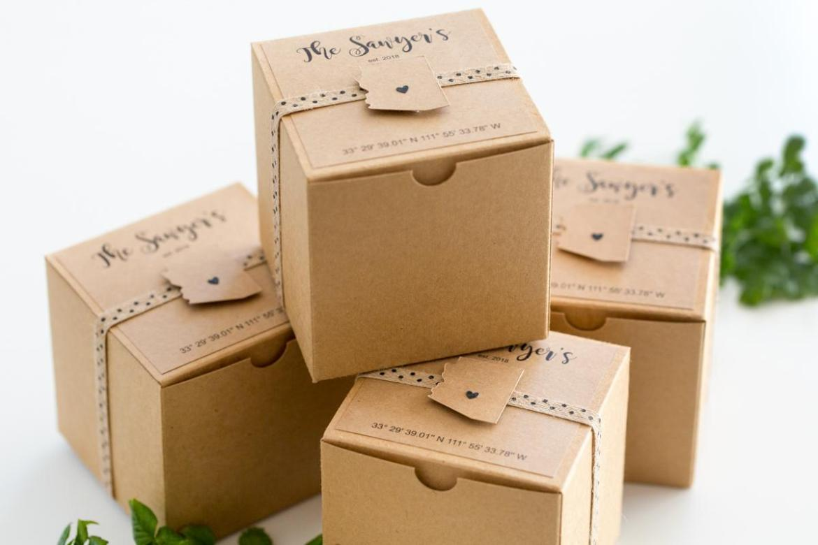 Wedding Gift Boxes: DIY Wedding Gift Box Idea By Partyography On Love The Day