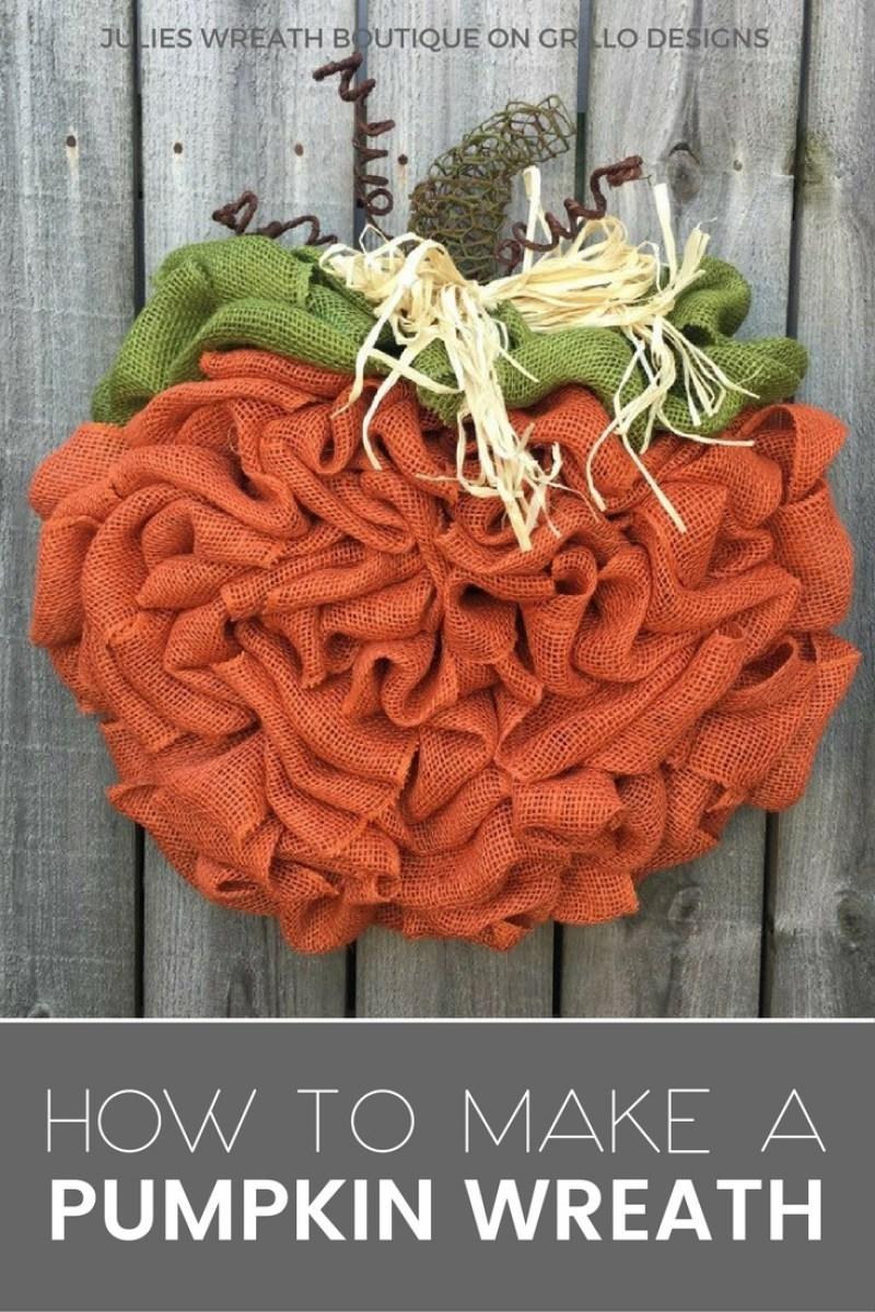 15 Easy DIY Fall Wreath Ideas on Love the Day