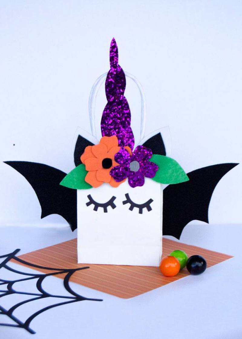 Halloween Unicorn SVG File by Lindi Haws of Love The Day
