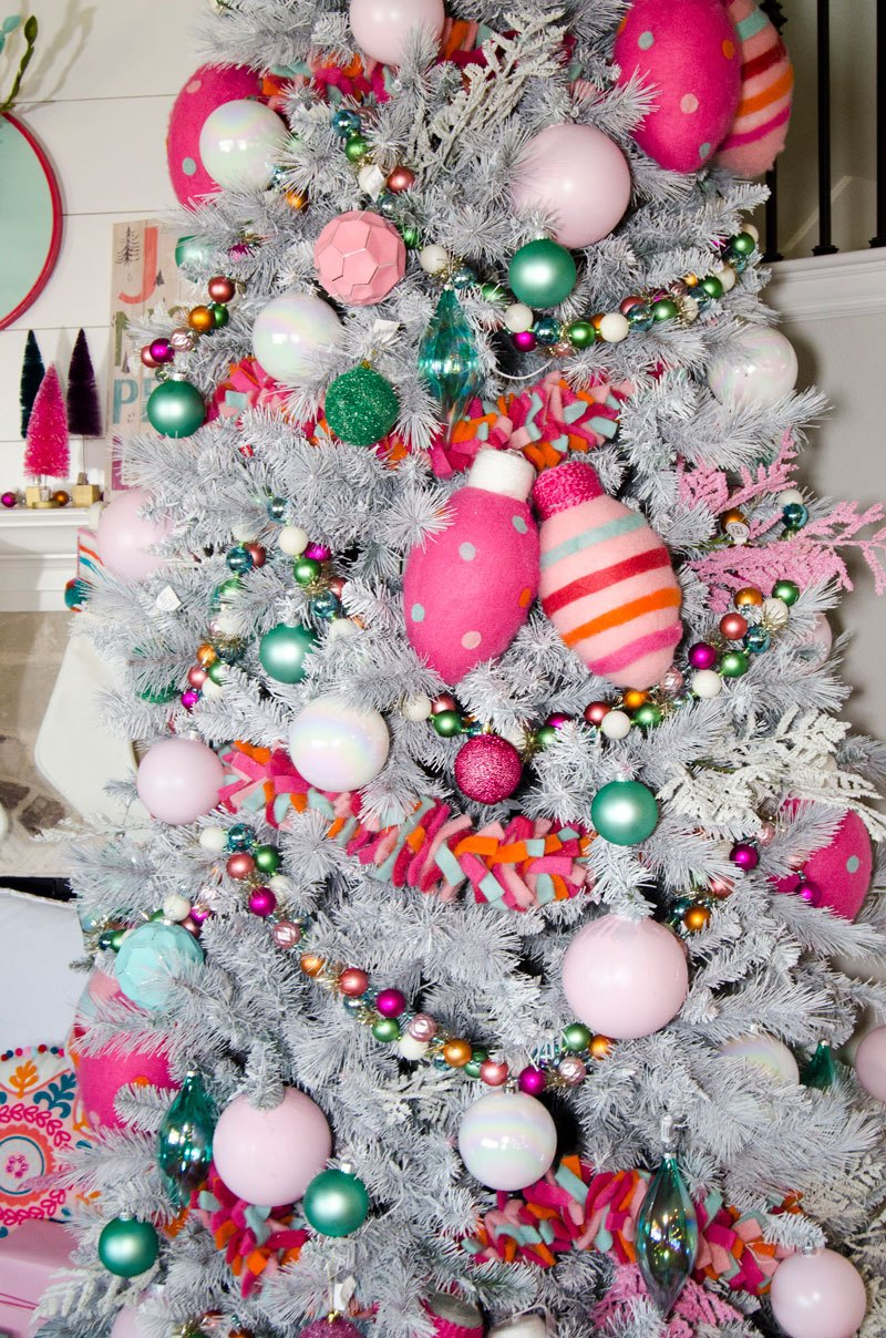 Whimsical BoHo Christmas Tree Idea by Lindi Haws
