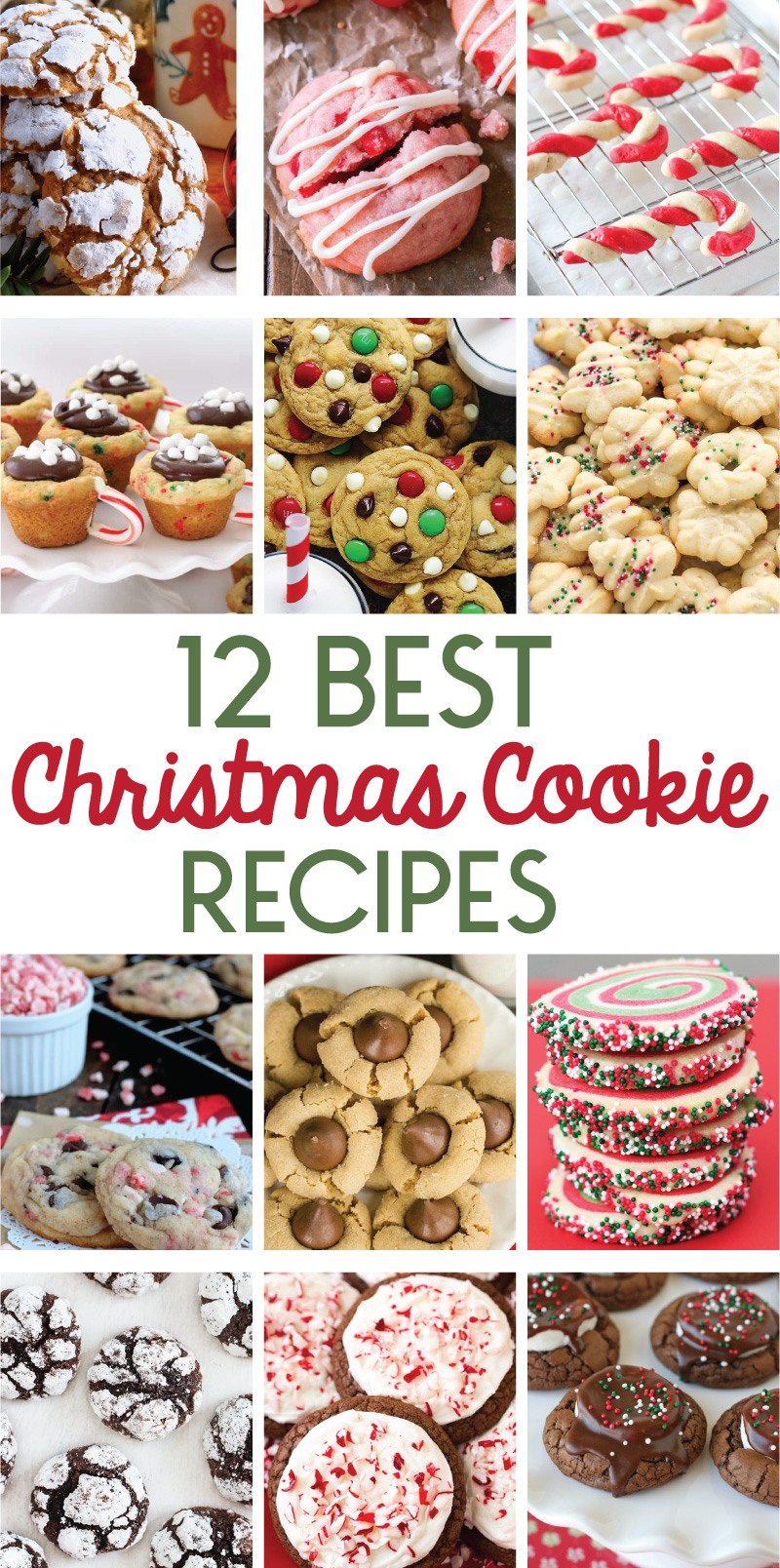 12 BEST Christmas Cookie Recipes on Love the Day | Grab your apron, turn on some Christmas tunes, and get ready to surprise your friends and family with the tastiest cookies on the block.