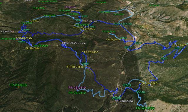 V5 - Popolasca et vallée du Golo