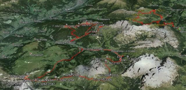 Traces Dolomites