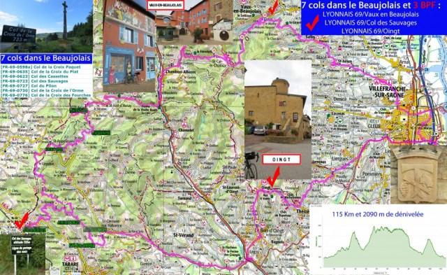 3 BPF et 7 cols dans le Beaujolais