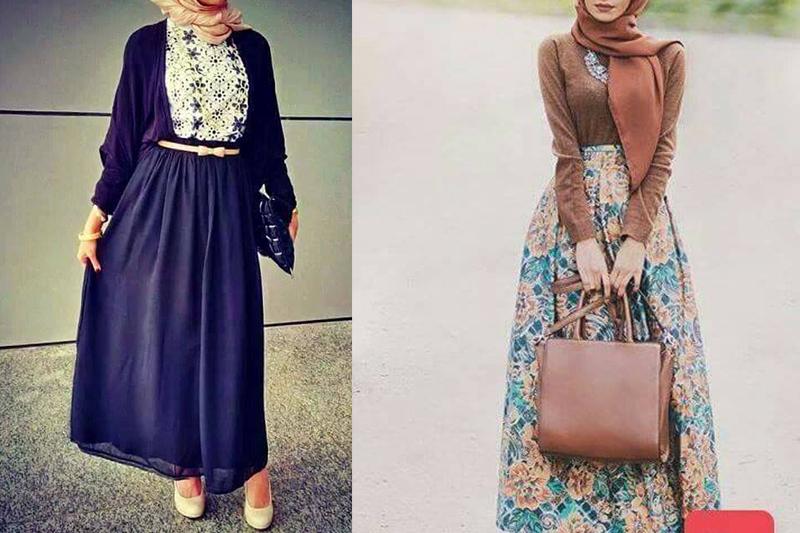 تنسيق الملابس للمحجبات افكار متنوعه لتنسيق ملابس المحجبات