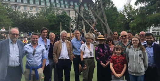 London's 'busiest playground' re-launches on the South Bank