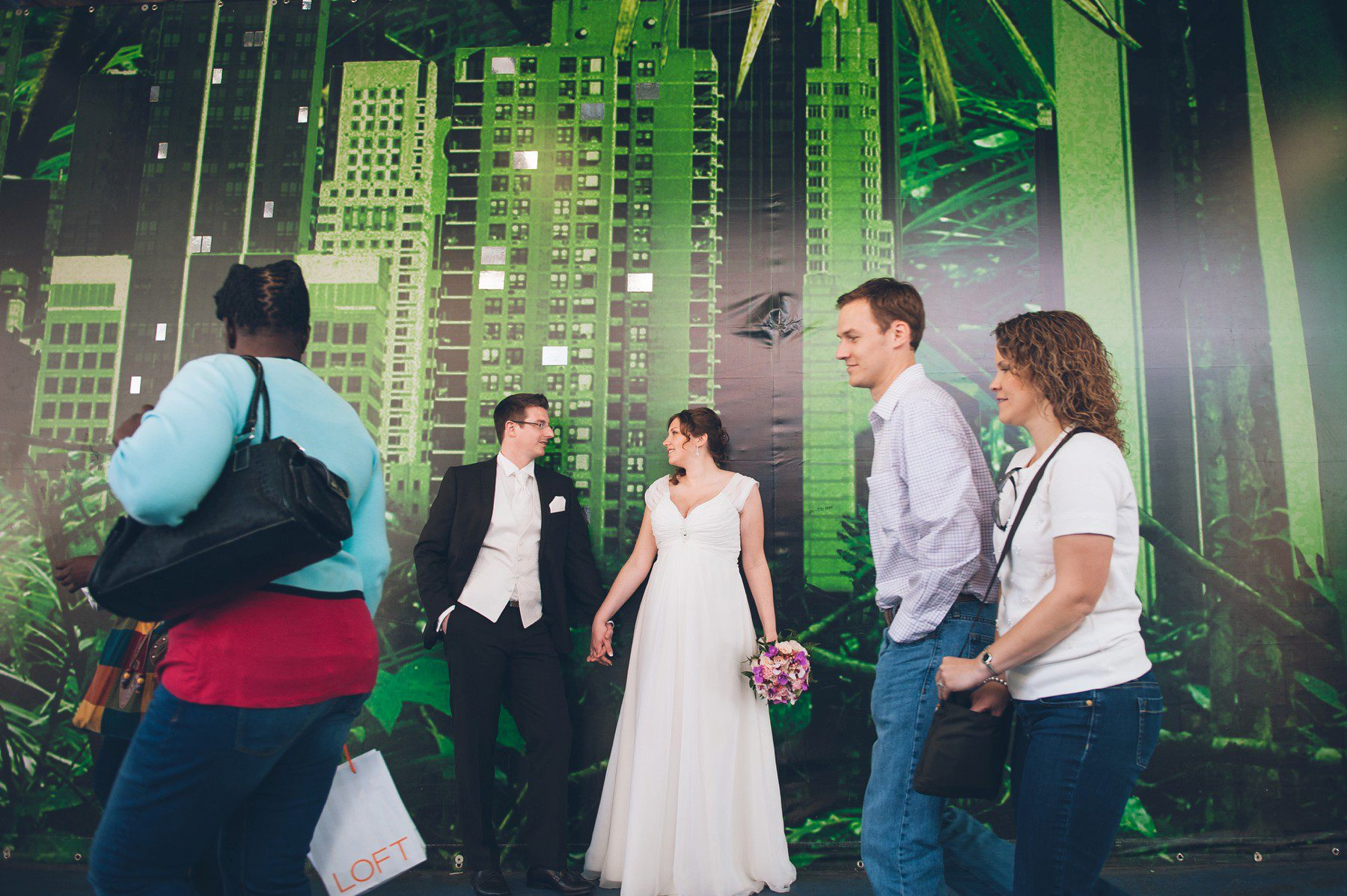 New York elopement photographer  The NYC elopement of Nicole  Andre  Heiraten in New York City