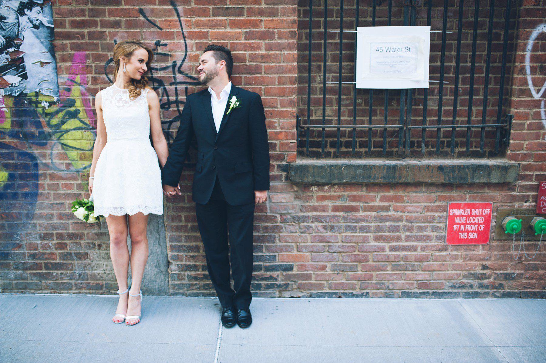 New York City Hall elopement  Heiraten im NYC Clerks Office
