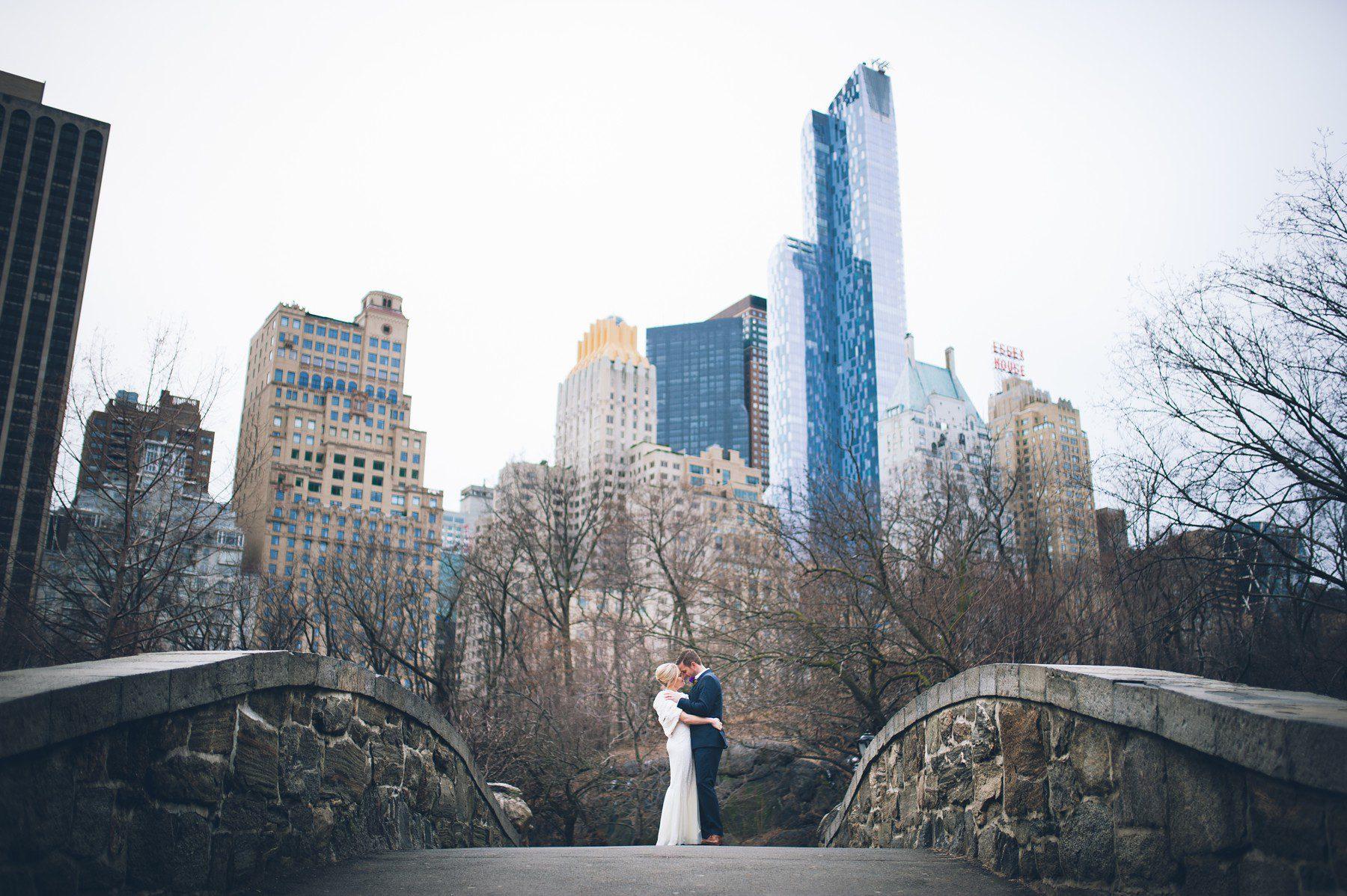 Bethesda Terrace Elopement  A New York Central Park Wedding
