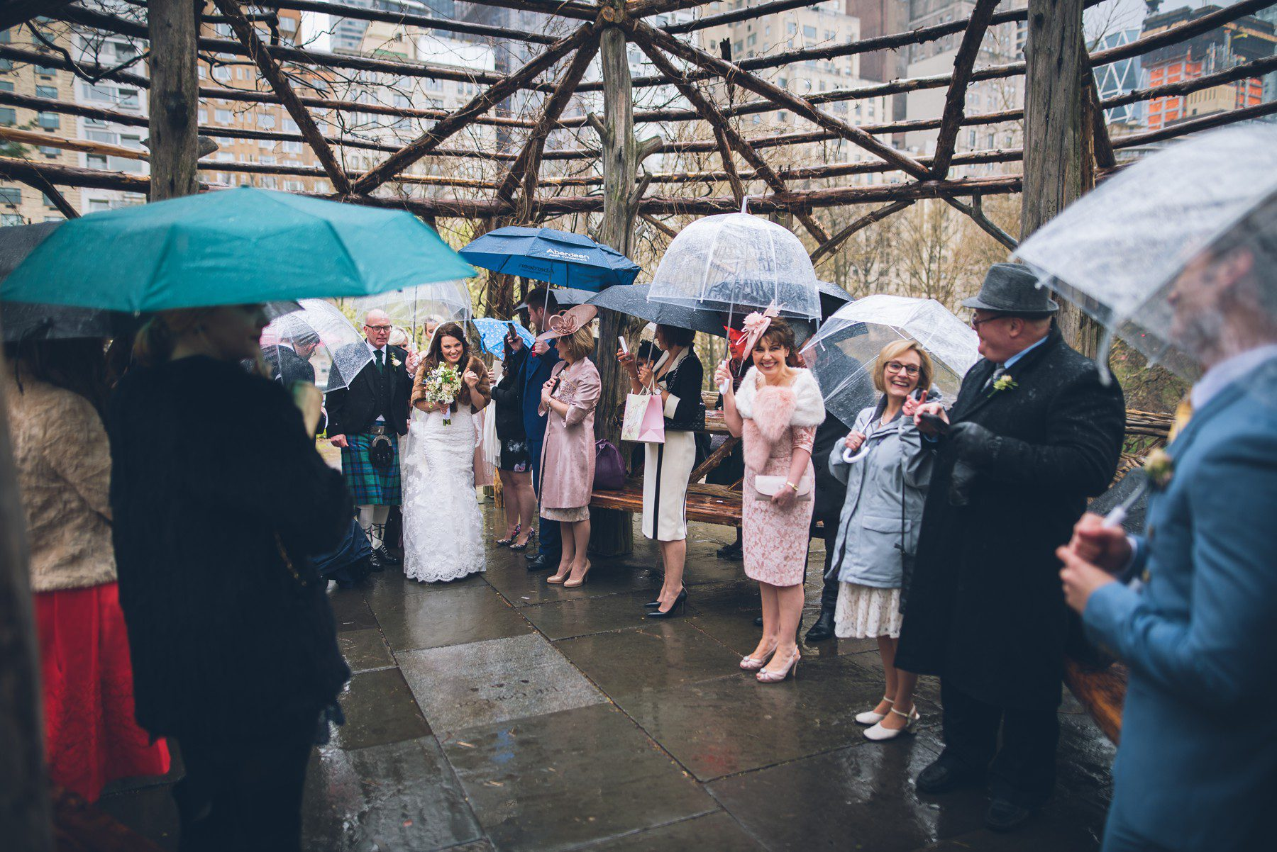 Elope at the Cop Cot in Central Park  A wedding in New York