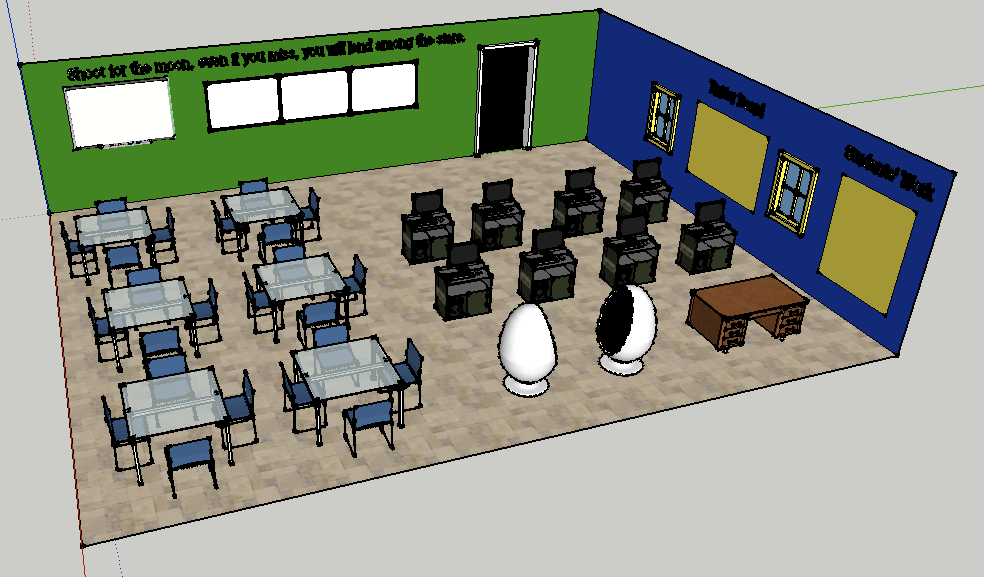 Designing a Dream Classroom with SketchUp  love2educate