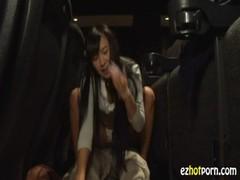 小倉奈々が映画館でセックスしちゃってる姓行為動画