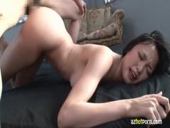 柚月あいが濃厚セックスでアクメ痙攣イキ動画