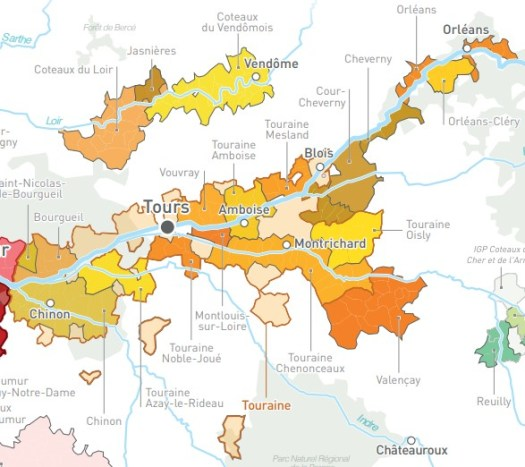 Fascinerende en levendige wijnen uit de Touraine