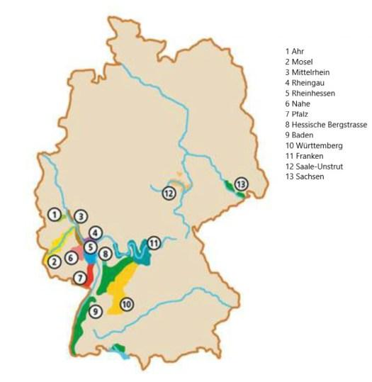 Ontwikkeld Duitsland zich als uitstekend wijnland