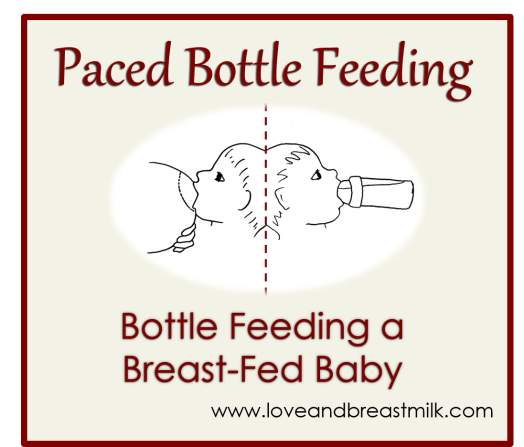 Paced bottle feeding
