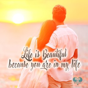 Love images with romantic phrases