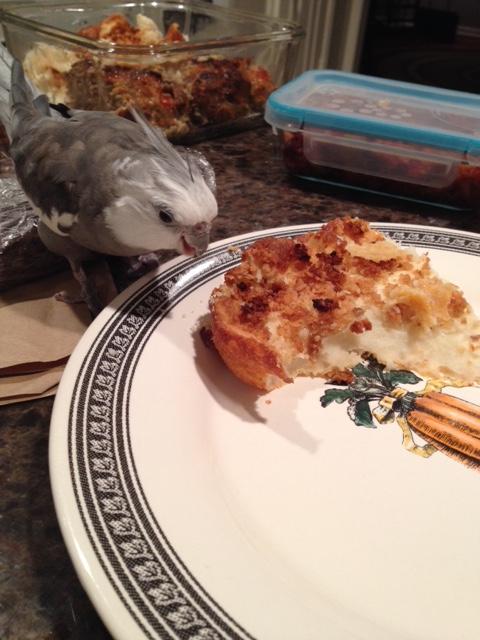 Oh boy! Cheesy potatoes!