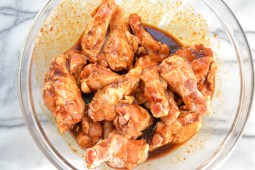 Add chicken, toss to coat. Marinade at least 1 hour.