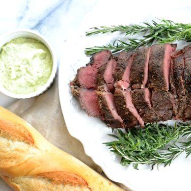 Herb-Roasted Filet of Beef Tenderloin