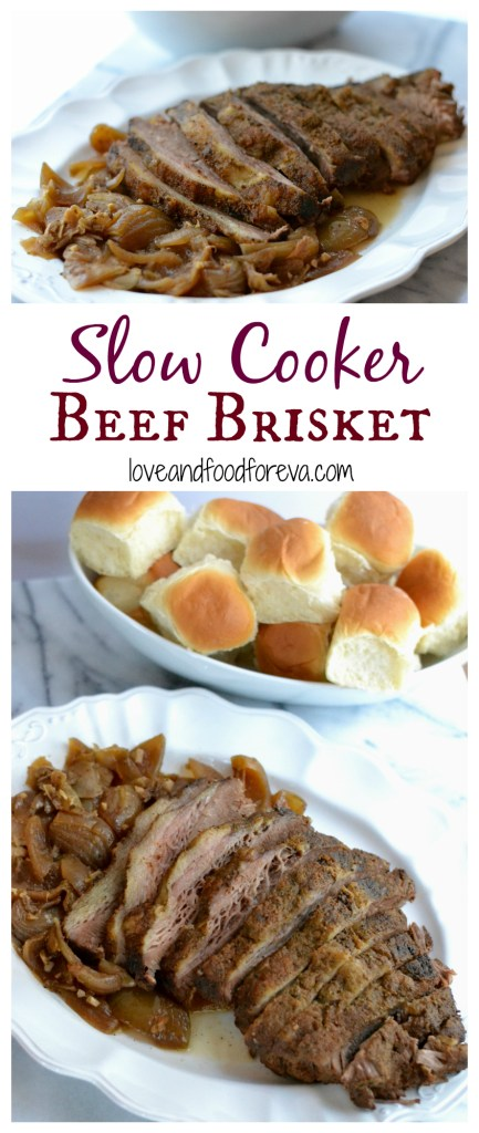 An easy, simple, and quick recipe for a delicious Slow Cooker Beef Brisket!