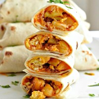 Mini Breakfast Burritos